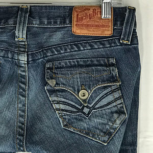 Lucky Lil Maggie Boot Cut Button Fly Jeans